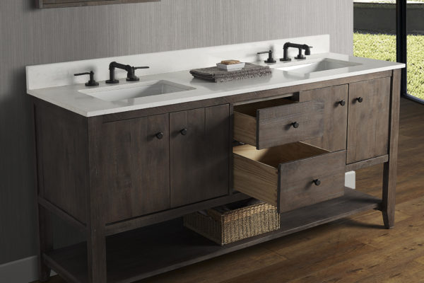 Fairmont Designs River View Bathroom Vanity v85