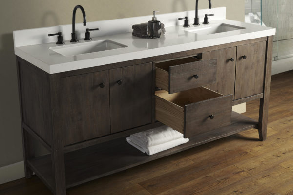 Fairmont Designs River View Bathroom Vanity v88