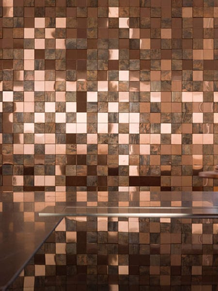 #24 Metal Bronze 3D Cubes
